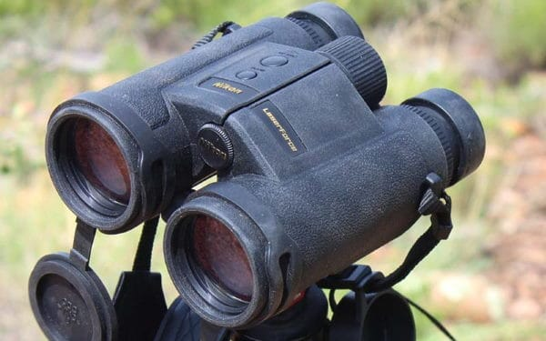 Nikon Laserforce Binoculars in the field