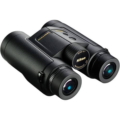 Nikon Laserforce Binoculars side profile