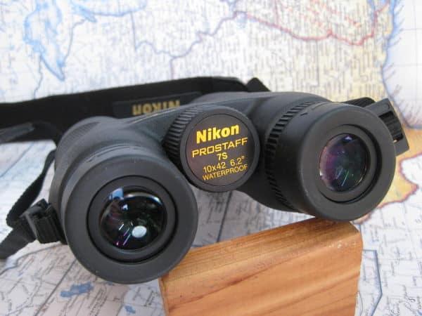 Nikon Prostaff 7s 10x42 Binoculars eye cup view
