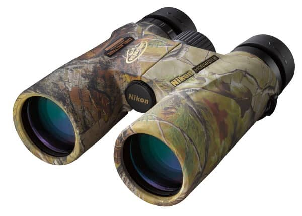 Nikon Monarch 5 10x42 Binoculars in camoflauge