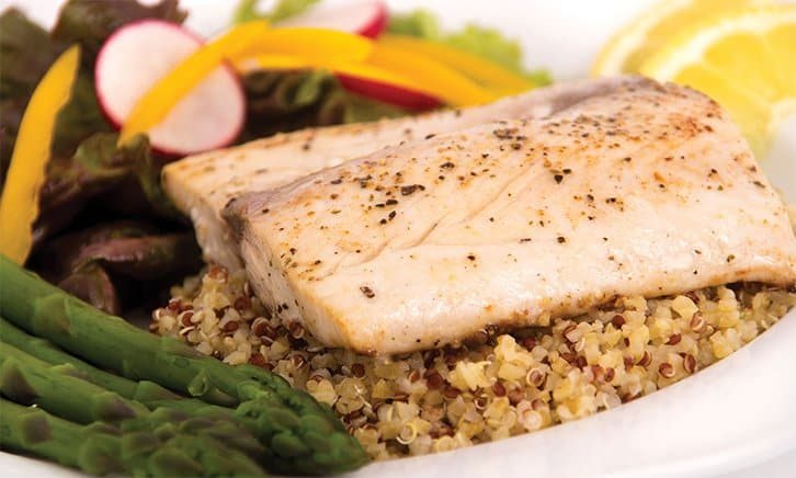 sauteed striped bass