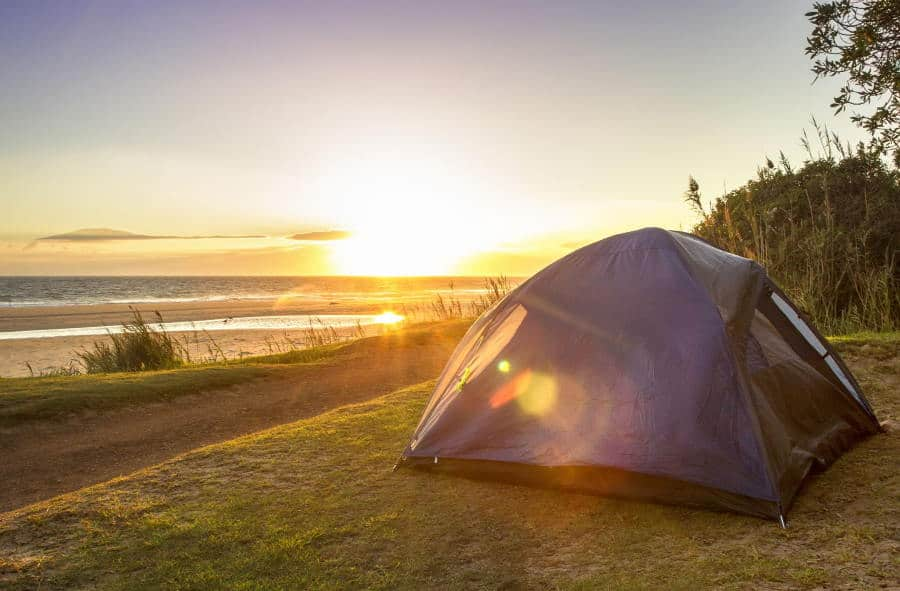 benefits of camping - get some vitamin D