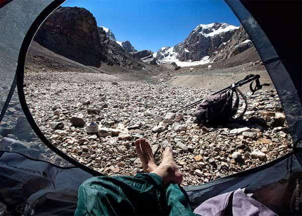 Mountain Climbing Base Camp
