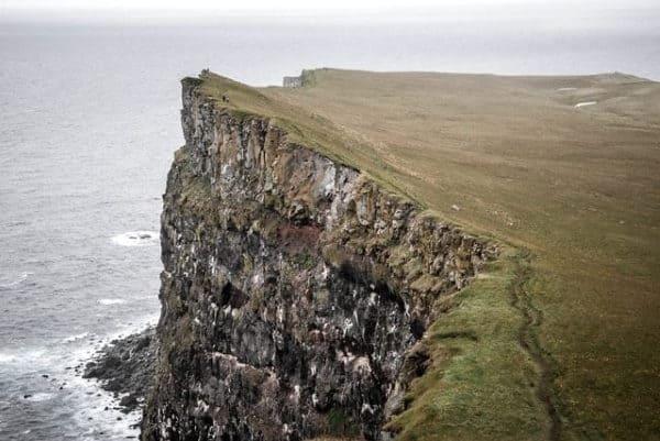 rock climbing steep cliffs