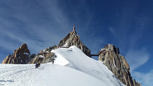 Mont Blanc Ascent Aiguille du Midi