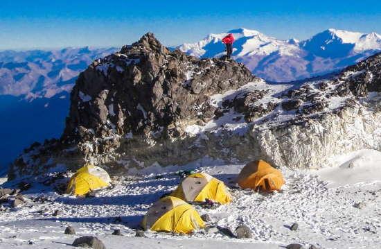 Mt Aconcagua Base Camp