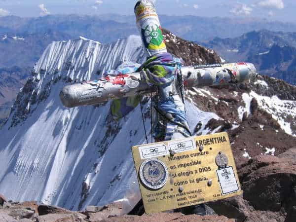 Mt Aconcagua Summit