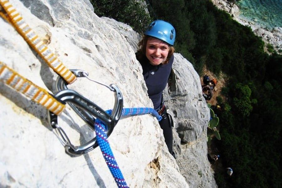 Top Rope rock climbing