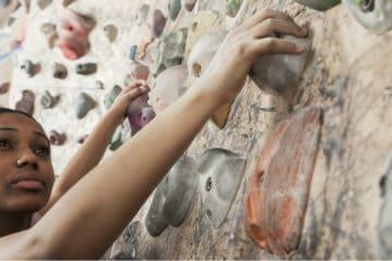 rock climbing arms