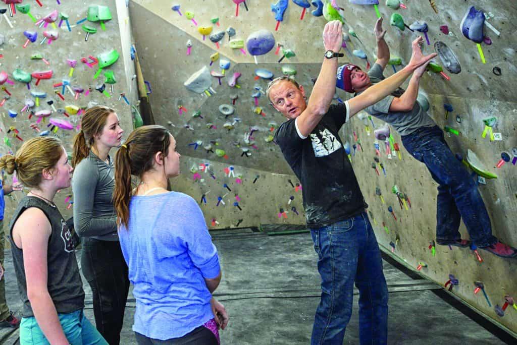 rock climbing coach