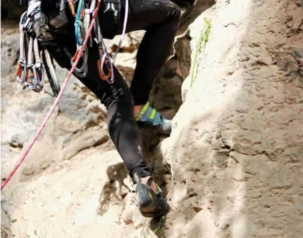 Rock Climbing Shoes Support