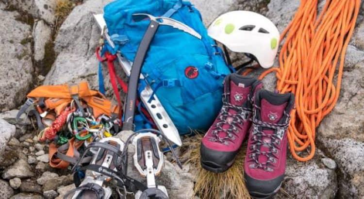 essential mountain climbing gear