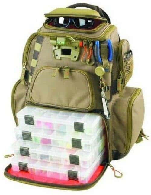 Wild River fishing backpack